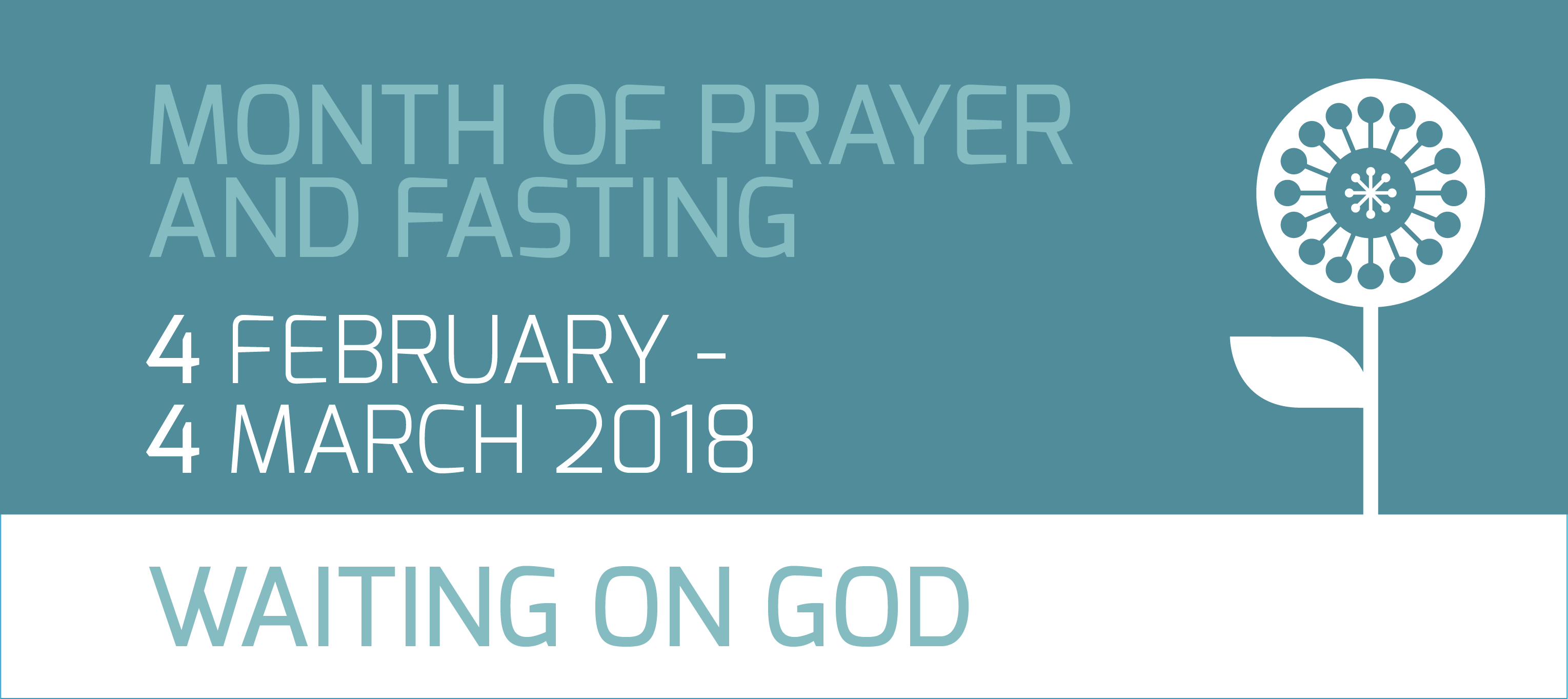 2018 Prayer and Fasting Banner